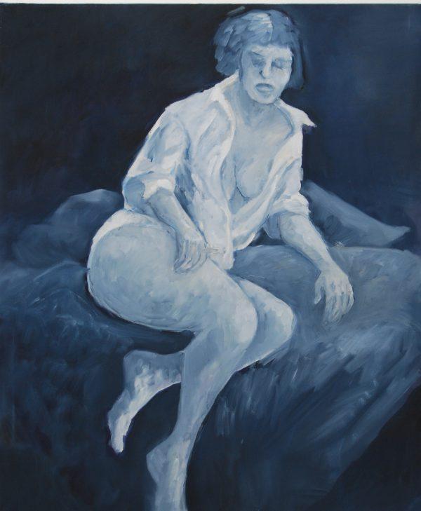 women frauen sabine jesse-kniesel painting oil